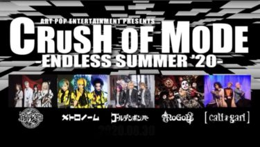 1年限定公開!ART POP ENTERTAINMENT『CRUSH OF MODE -ENDLESS SUMMER'20-』習慣