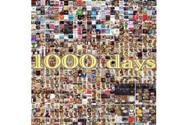 祝☆1000days『毎日インスタ投稿』習慣