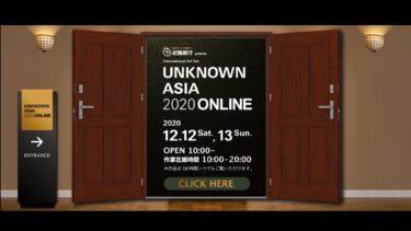 【無料】アートフェア『UNKNOWN ASIA 2020 ONLINE』習慣